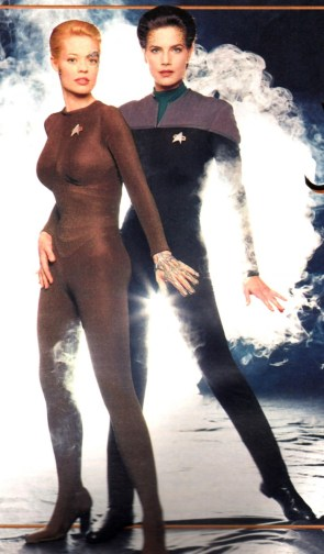seven of nine and dax