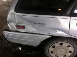 tis but a scratch