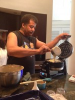 To make waffles