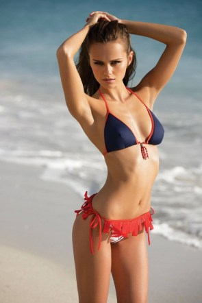 sea bikini model