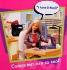 Barbie has email