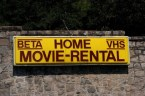 Beta home VHS Movie-Rental