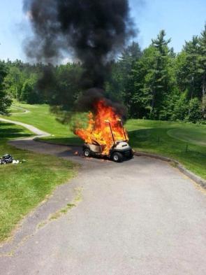 Hot Golf Cart
