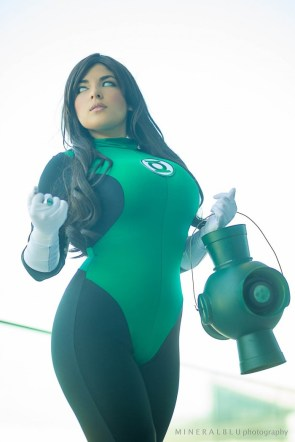 Mariedoll – Green Lantern Cosplay