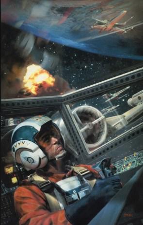 Star Wars – Xwing battle