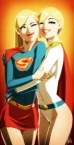 Supergirl and Powergirl
