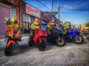 TMNT Bikers