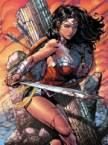 Wonder Woman pouts