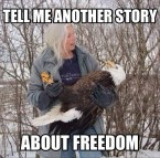 Tell me another story about freedom