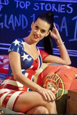 Katy Perry – American Flag Dress