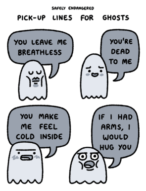 pick-up lines for ghosts