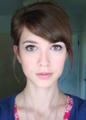 brunette potrait