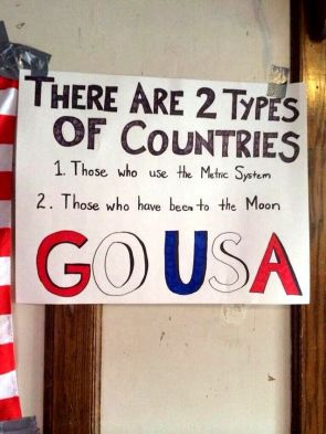 Two Types of Countries – Metric and Moon