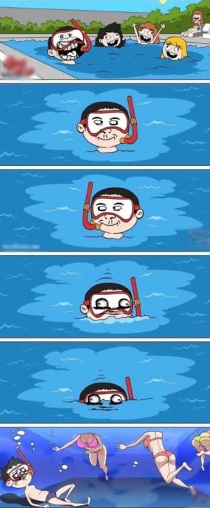 underwater pervert