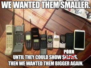 we wanted them smaller