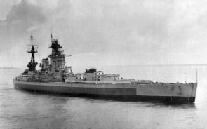 old battle cruiser