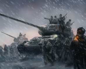 red star army tank