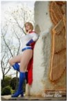 Ardella Cosplay as powergirl