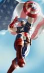 Captain America Parachut