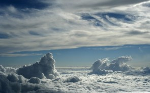 cloud tops