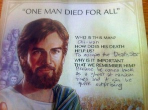 one man died for all