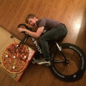pizza bike