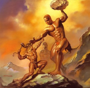 thor vs. goliath