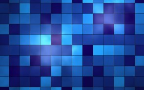Blue Tile Wallpaper