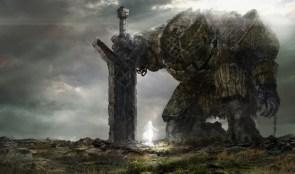 Colossus Kneeling