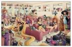 Disney Princesses Dressing Room