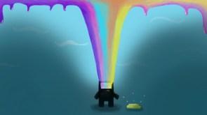 Domo Rainbow Puke