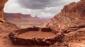 False Kiva Canyonlands National Park Utah by Don Paulson