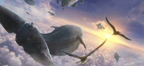 Flying whales by Tiago Silverio