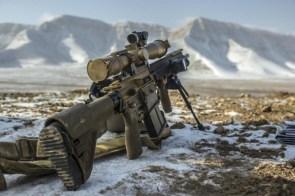 Mountain Rifle hk417