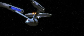 NCC-1701 A in space