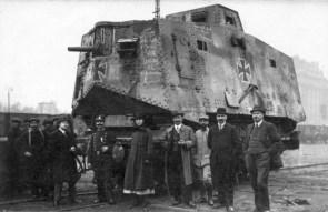 Nazi rail tank