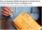 New Welfare Law