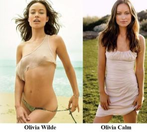 Olivia Wilde vs Calm