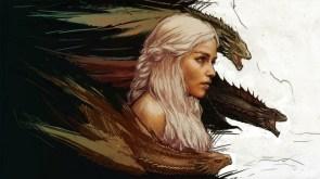 Queen Of Dragons Wallpaper