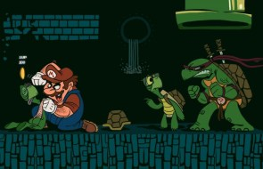 TMNT Vs Mario