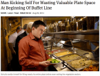 Valuable plate space