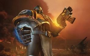 Warhammer space marine power glove