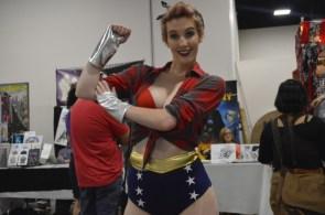 Wonder Woman cosplayer – Rosie