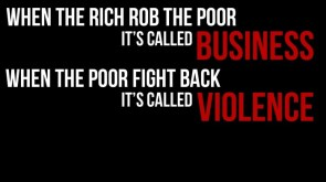 business vs violence