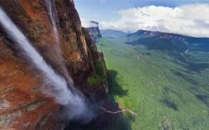 falls height rock stream