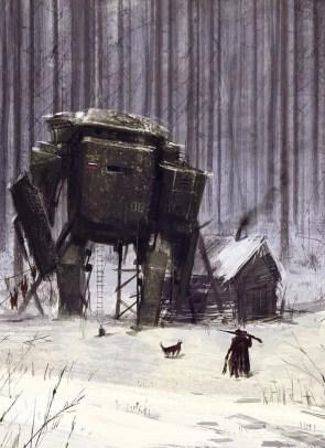 robots by Jakub Rozalski