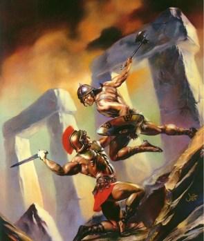 men fight