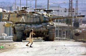 little kid vs tank