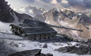 russian tank in winter