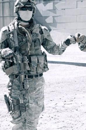 soldier fist